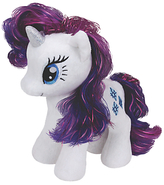 My Little Pony Ty Rarity Beanie Baby, 17cm