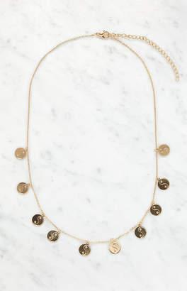 La Hearts Yin & Yang Charm Necklace