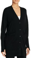 DKNY Oversize V-Neck Cardigan - 100% Bloomingdale's Exclusive
