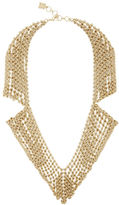 BCBGMAXAZRIA Chainmail Collar Necklace