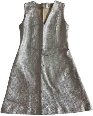 MAISON KITSUNÉ Silver Cotton Dresses