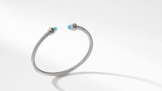 David Yurman Renaissance Bracelet With Turquoise And 18K Gold