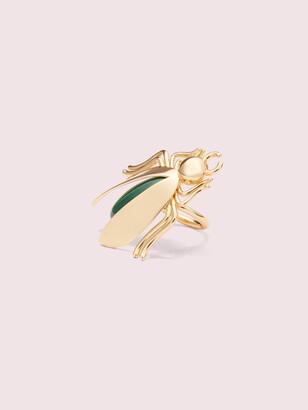 Kate Spade Future Heirloom Stone Bug Ring