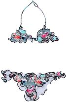 MC2 Saint Barth Animals Printed Lycra Triangle Bikini
