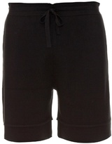 Balenciaga Drawstring Wool-knit Shorts