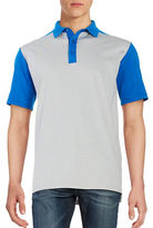 Callaway Golf Performance Color Block Short Sleeve Polo Shirt