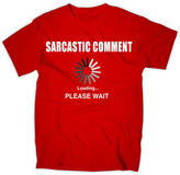 JCPenney NOVELTY PROMOTIONAL Sarcastic Comment Graphic Tee