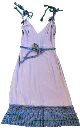 Prada Pink Silk Dresses