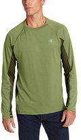 Champion Men's Powertrain Long-Sleeve Raglan T-shirt