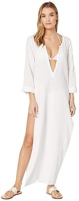 O'Neill Kayson Cover-Up (White) Women's Swimwear