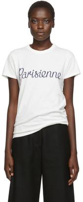 MAISON KITSUNÉ Off-White Parisienne T-Shirt