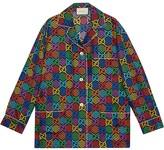 Gucci GG Psychedelic print shirt