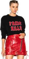 Adaptation Fame Kills Cashmere Sweater