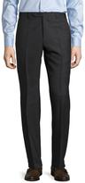 Zanella Devon Solid Flat Front Trousers