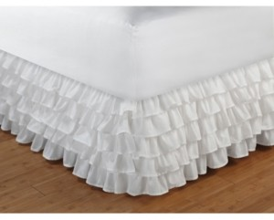 "Greenland Home Fashions Multi-Ruffle Bed Skirt 15"" Full"