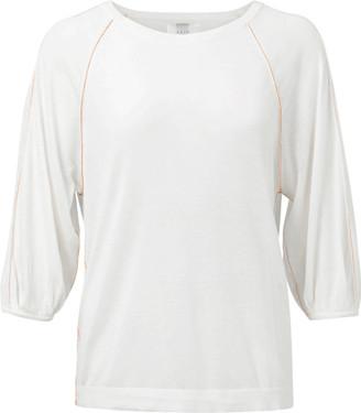 Ya-Ya Boatneck White Sweater - X Small
