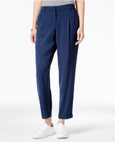 Bar III Pinstripe Ankle Pants, Only at Macy's