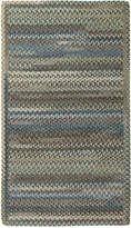 Capel Area Rug, American Legacy Rectangle Braid 0210-280 Pine Forest 2' x 3'