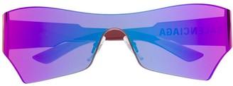 Balenciaga Eyewear Mono cat sunglasses