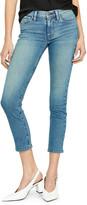 Hudson Tally Mid-Rise Crop Straight-Leg Jeans
