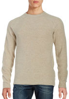 Ben Sherman Mouline Ribbed Crewneck Sweater