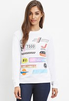 Forever 21 Jet Setter Graphic Sweatshirt