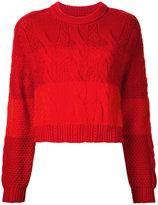 Coohem animal gradation pullover