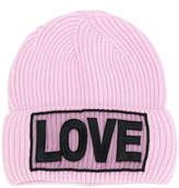 Versace Love manifesto beanie