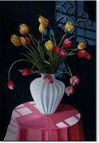 Asstd National Brand San Marcos Tulips Metal Art