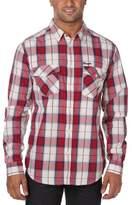 Wrangler Men's Checked Long Sleeve Classic Slim Fit Shirt
