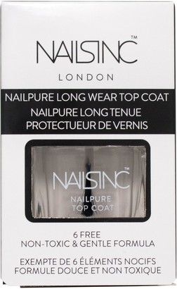 Nails Inc Nailpure Top Coat, 14ml