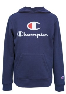 "Champion Little Boys ""C"" Script Fleece Hoodie"