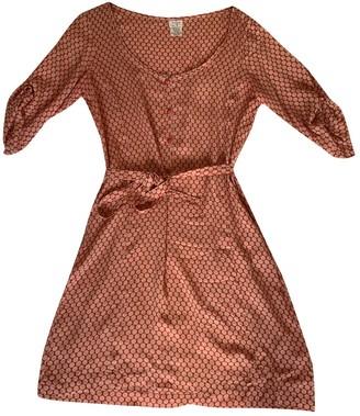 Hartford Red Silk Dress for Women
