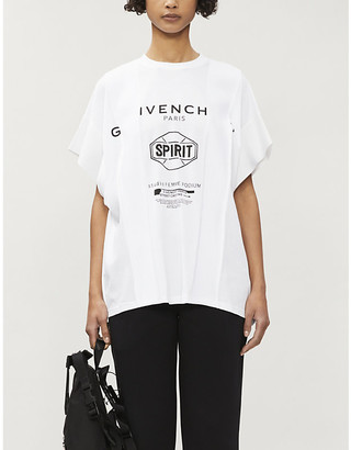 Givenchy Studio Femme Podium cotton-jersey T-shirt