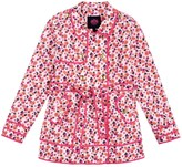 Juicy Couture Girls Hard Woven Marina Floral Trench