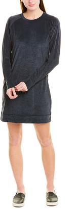 James Perse Velvet Shift Dress