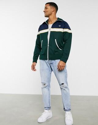 adidas Samstag premium track jacket in navy