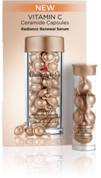 Elizabeth Arden Receive a Free 2pc Vitamin C Ceramide Capsules Radiance Renewal Serum with any purchase