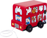 Orange Tree Toys London bus pull-along