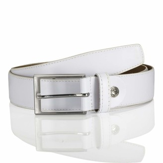 LINDENMANN men's leather belt/men's belt leather belt