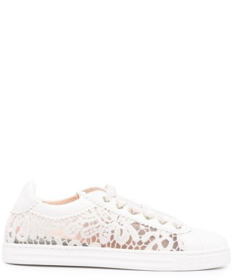 AGL Lace Low-Top Sneakers
