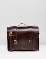 Dr. Martens 15 Inch Leather Satchel