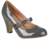 Journee Collection Women's Wendy Mary Jane Patent Leather Pumps