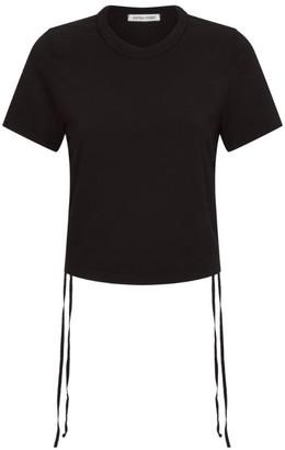 Cotton Citizen Lisbon Ruched Side T-Shirt