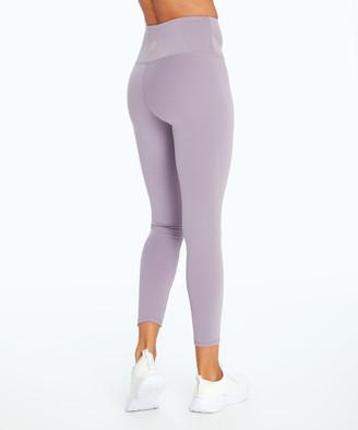 Ash Balance Collection Women's Leggings PURPLE - Purple 27'' Contender High-Waist Lux Leggings - Women