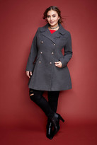 Fashion to Figure Ashford Swing Peacoat