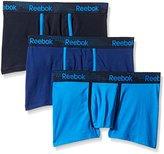 Reebok Men's 3 Pack Stretch Trunk