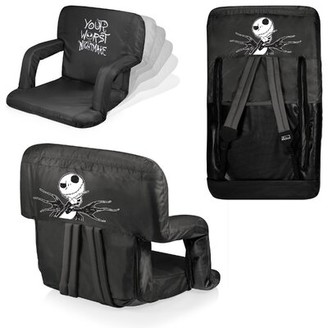 Picnic Time Jack Ventura Portable Reclining/Folding Stadium Seat with Cushion
