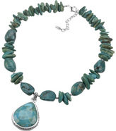 Barse Women's Turquoise Necklace EXCLN156T