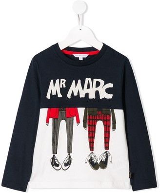 Little Marc Jacobs Mr Marc sweatshirt